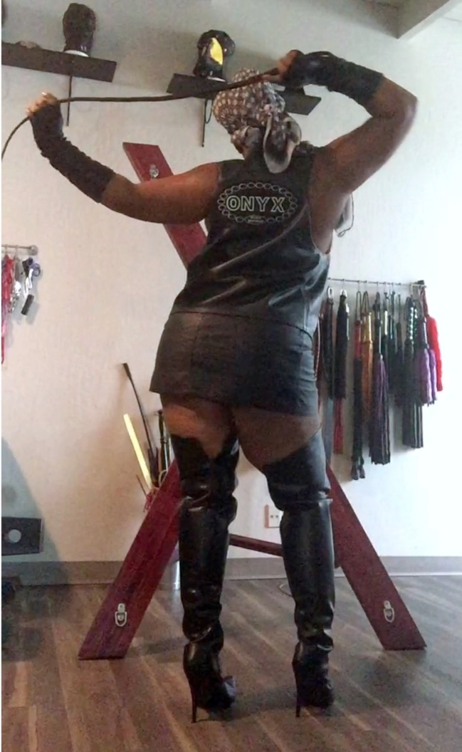 pic 14 leather thigh boots